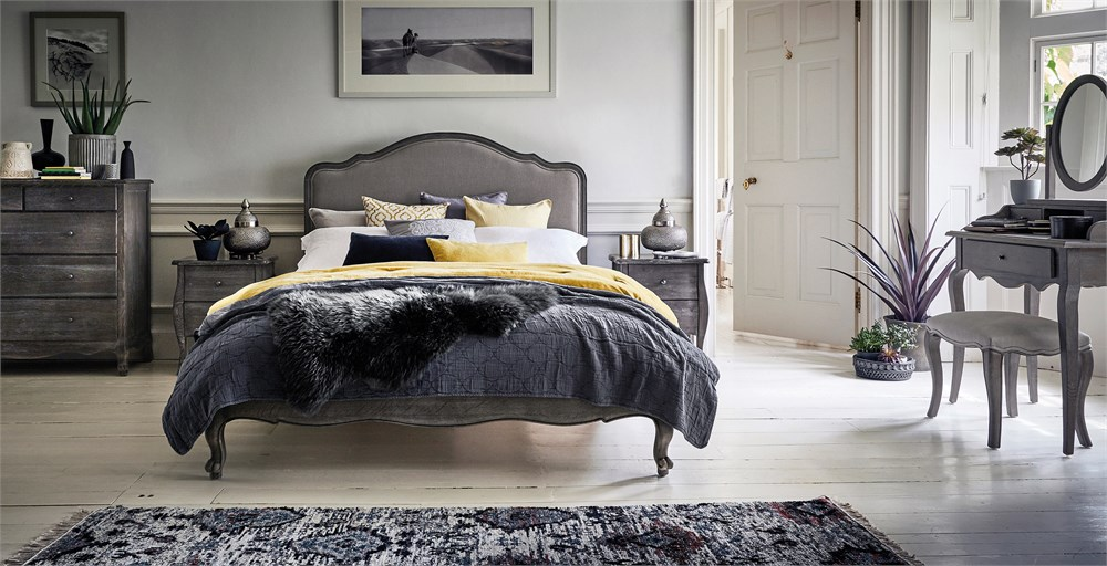 Sienna Grey Bed
